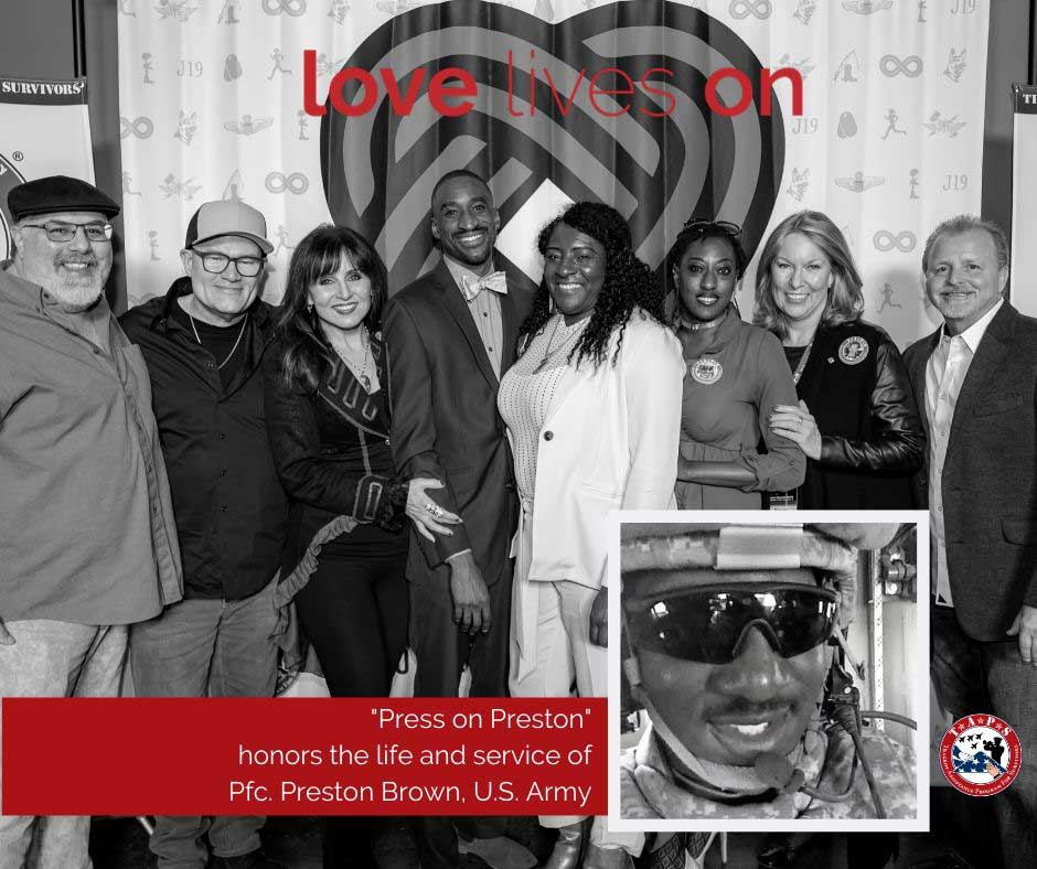 love lives on facebook graphic - press on preston