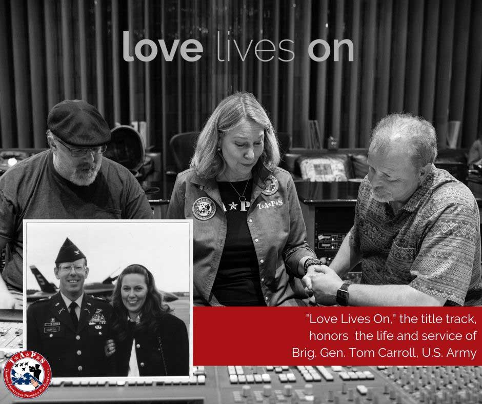 love lives on facebook graphic - title song