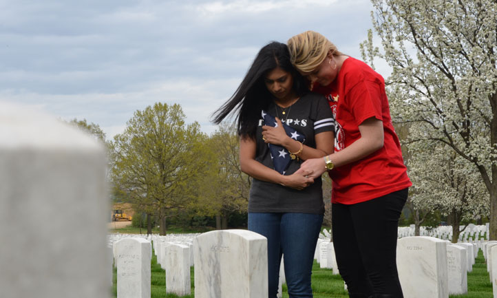Surviving Spouses at Arlington Cemetery