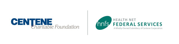 Centene Charitable Foundation and Health Net Federal Services Logos
